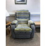 Picture of Roma Gents Chair in Orly Silver/Dixie Minosa