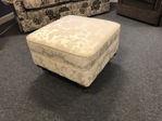 Picture of Occasional item - Chelsea Footstool in Floral Cream