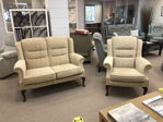 Picture of Erringden 2 Seater sofa and chair in Ripple Honey