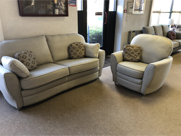 Picture of Goya 3 Seater Sofa and Chair in Bedale 3014 Linen 031