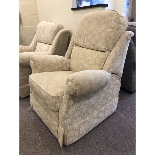 Picture of Malvern Power Recliner Chair in Brunello Fabric
