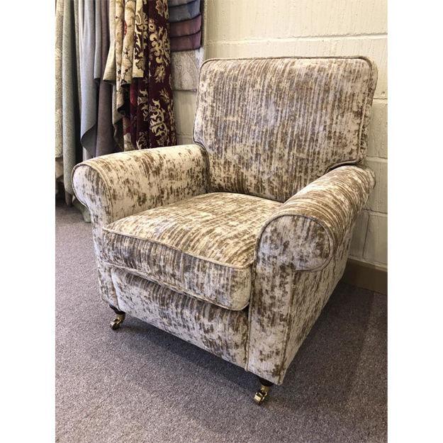 Picture of Oakworth Chair in Jazz 18118 Linen