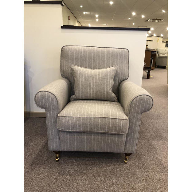 Picture of Oakworth Chair in Smythson Linen