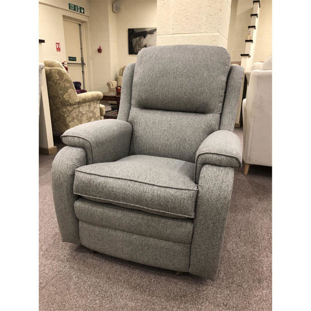 Picture of Roma Gents Chair in Orly Silver