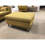 Picture of Mode 2.5 Seater Sofa and Pouffe in Tobore 6100 316472 FR 140 Fabric