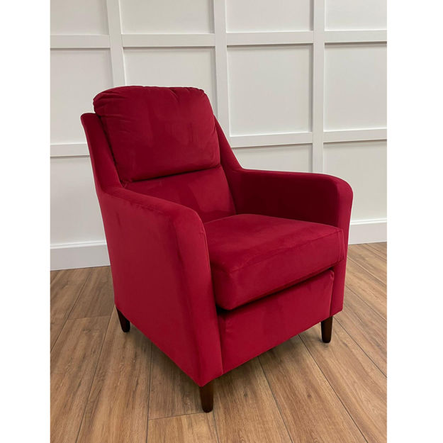 Picture of Spencer Chair in Plus Shiraz Fabric
