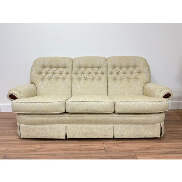Picture of Capri 3 Seater Sofa in Genziana 11 Fabric