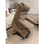 Picture of Harmony Dual Motor Lift and Rise Recliner Chair in Tess 71 Fabric
