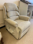 Picture of Rhapsody Dual Motor Lift and Rise Recliner Chair in Fjord 161 Fabric