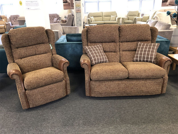Picture of Harmony 2 Seater Sofa and Chair In Tess 71