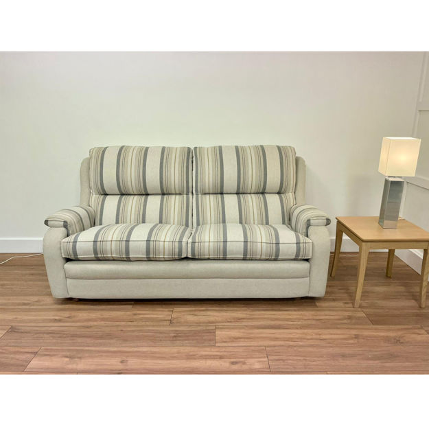 Picture of Roma 3/Seater Settee in Harrison 1706 Fabric