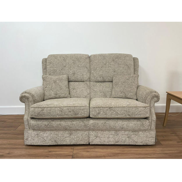 Picture of Sorrento High Back Gents 2/Seater Sofa in Special Linen Fabric