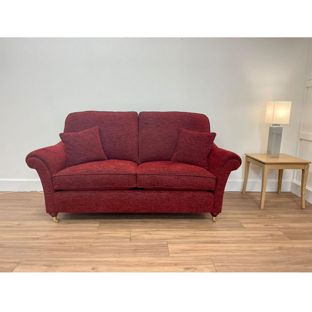 Picture of Florence 3 Seater Sofa in SR 14761 Plain Wine Fabric